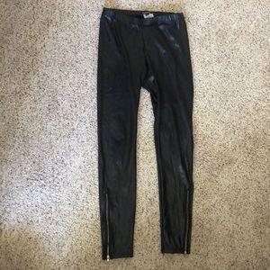 Bebe Faux Leather Leggings